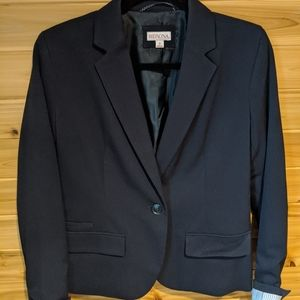 Merona Navy One Button Blazer